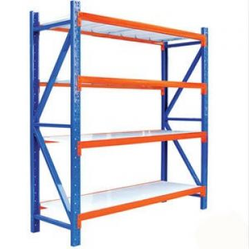 Stability High Weight Capacity Stylish 4shelf Rust Proof Steel Commercial Grocery Shelf